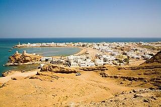 Sur, Oman City in Ash Sharqiyah Region, Oman