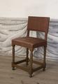 Svarvad stol av ek, 1650 cirka - Skoklosters slott - 103847.tif