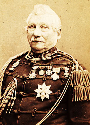 Jan van Swieten - Lieutenant-General Jan van Swieten in 1874