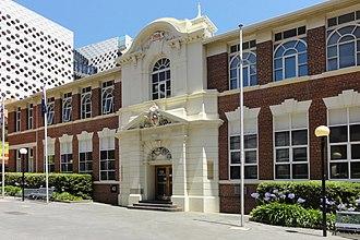 Swinburne University of Technology - Image: Swinburne University Administration Building panoramio