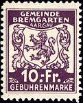 Switzerland Bremgarten 1940 revenue 10Fr - 28.jpg