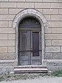 Synagogue, W door, 2020 Pápa.jpg