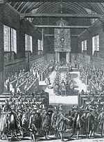 Le synode de Dordrecht par Bernard Picart.