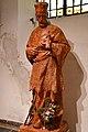 Szombathely, szaléziánus templom Nepomuki Szent János-szobra 2021 06.jpg