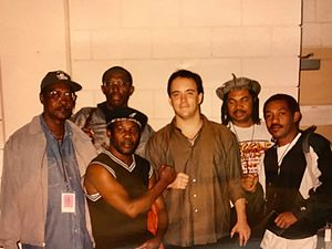 Dave Matthews - Toots and the Maytals with Dave Matthews when performing together in 1998