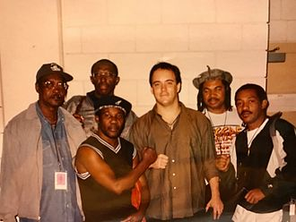 Dave Matthews Band - Toots and the Maytals with Dave Matthews when performing together in 1998