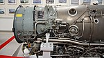TF40-IHI-801A turbofan engine compressor section left side view at Archive room of JASDF Miho Air Base May 28, 2017.jpg