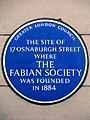 THE SITE OF 17 OSNABURGH STREET WHERE THE FABIAN SOCIETY WAS FOUNDED IN 1884.jpg
