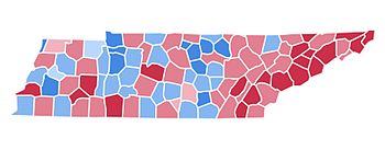 United States Presidential Election In Tennessee 2000