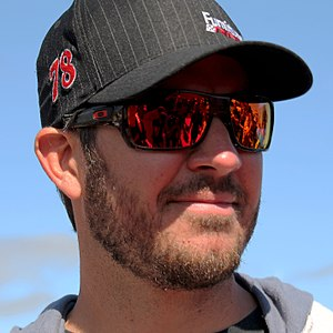 2015 NASCAR Sprint Cup Series - Martin Truex Jr., finished 11 points behind Kyle Busch in fourth place