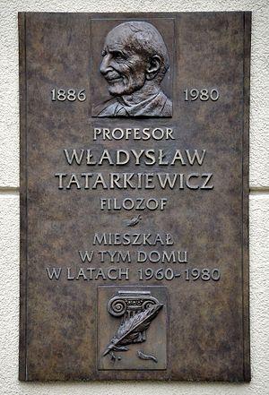 Tatarkiewicz, Wladyslaw