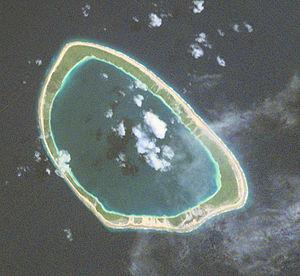 Taiaro - NASA picture of Taiaro Atoll