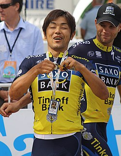 Takashi Miyazawa, 2013 Tour Down Under (cropped).jpg