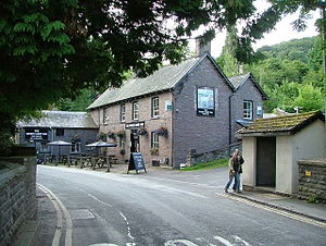 Talybont-on-Usk - Image: Talybont ar Wysg The White Hart Inn