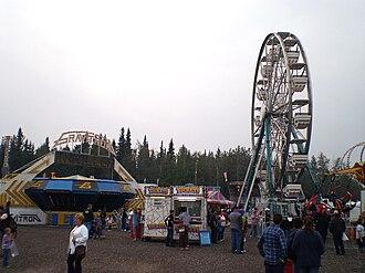 State fair - The 2009 Tanana Valley State Fair in Fairbanks, Alaska