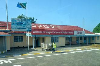 Tanga, Tanzania - Tanga Airport Arrival lounge