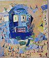 Tanz ums goldene Kalb, Margret Hofheinz-Döring, Öl, 1962 (WV-Nr.2756).JPG
