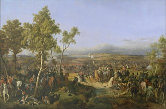 Battle of Tarutino - Battle of Tarutino, by Piter von Hess