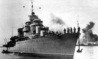 Tashkent-class destroyer - Image: Tashkent 04