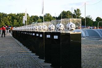 "Adidas Teamgeist - Teamgeist Gallery in Adidas ""world of football"", Berlin"