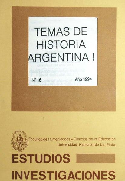 File:Temas de historia argentina I.djvu