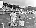 Tenniskampioenen te Noordwijk. (links) DavidsonPatty (rechts), Bestanddeelnr 907-8784.jpg