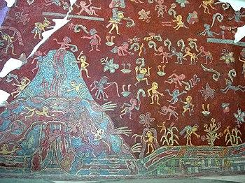 Pittura Nelle Americhe Prima Della Colonizzazione Europea Painting In The Americas Before European Colonization Qaz Wiki