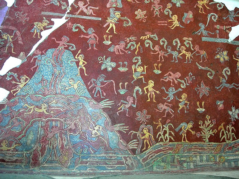 http://upload.wikimedia.org/wikipedia/commons/thumb/a/a5/Tepantitla_Mountain_Stream_mural_Teotihuacan_%28Luis_Tello%29.jpg/800px-Tepantitla_Mountain_Stream_mural_Teotihuacan_%28Luis_Tello%29.jpg