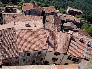 Capalbio Comune in Tuscany, Italy