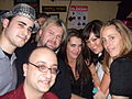 Thaler with Brooke Shields, Kim Raver, Lindsey Price and PGS members, 2009.jpeg