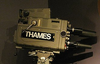 Thames Television - Thames TV camera - a Marconi Mark 3 -at the National Media Museum, Bradford