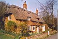 Thatched Cottage near Cheriton. - geograph.org.uk - 182850.jpg