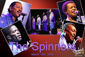 The Spinners (American R&B group) - The Spinners in concert at the Chumash Casino Resort in Santa Ynez, California, on March 18, 2006