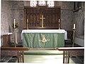 The Altar, St. George's Church, Dittisham - geograph.org.uk - 1480109.jpg