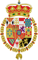 The Arms of Juan, Count of Barcelona, after the renounce of his claim to the throne.png