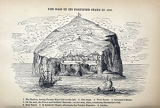 Bass Rock - The Bass in the 17th century