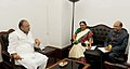 The Chief Minister of Gujarat, Smt. Anandiben Patel meeting the Union Minister for Finance, Corporate Affairs and Defence, Shri Arun Jaitley, in New Delhi on June 10, 2014.jpg