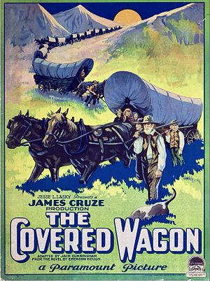 The Covered Wagon - Image: The Covered Wagon poster