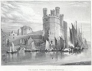 The Eagle Tower Carnarvon Castle