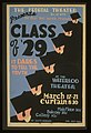 "The Federal Theater Div. of WPA presents the play that rocked Broadway ""Class of '29"" LCCN98510242.jpg"