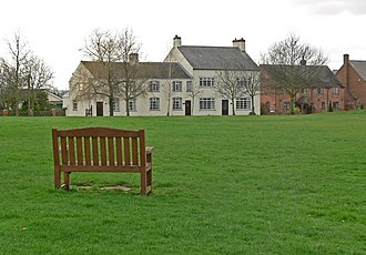 Dadlington - Image: The Green in Dadlington, Leicestershire geograph.org.uk 675599