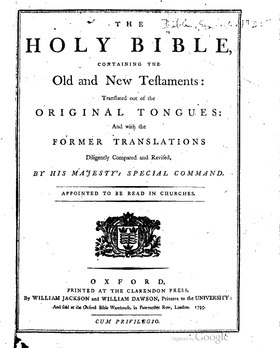 The Holy Bible (King James version), Oxford (1795).pdf