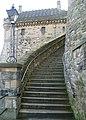 The Lang Stairs, Edinburgh Castle - geograph.org.uk - 2718809.jpg
