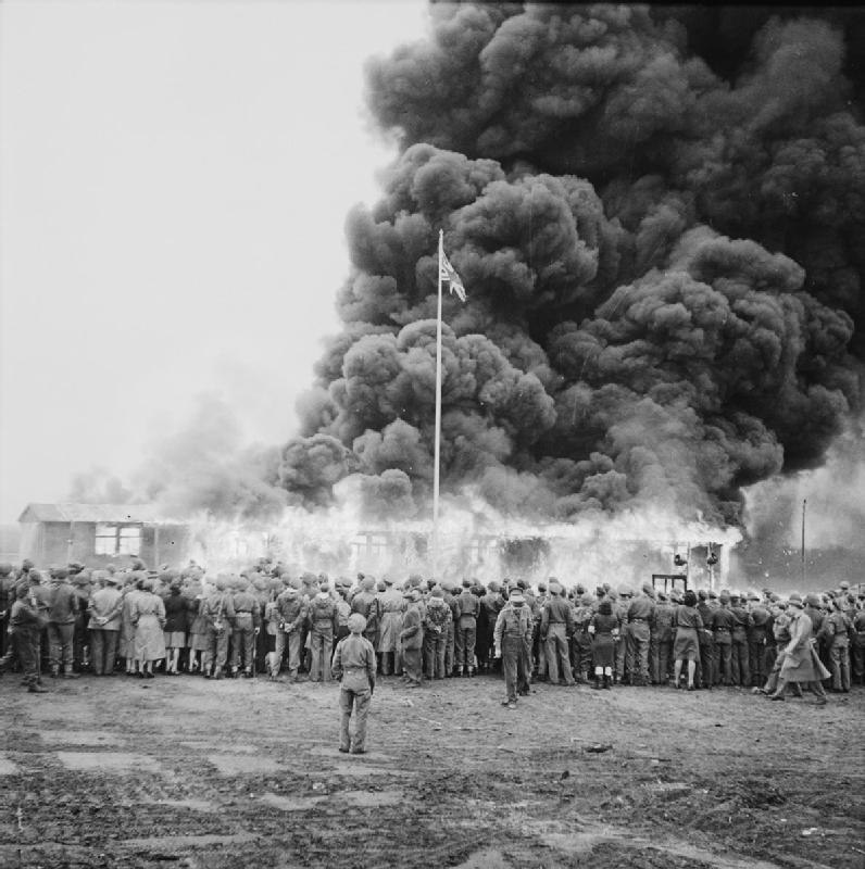 The Liberation of Bergen-belsen Concentration Camp, May 1945 BU6674