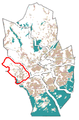 The Map of Kauklahti at Espoo in Finland.png