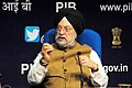 The Minister of State for Housing and Urban Affairs (IC), Shri Hardeep Singh Puri addressing a press conference on Swachh Survekshan 2018, in New Delhi on May 16, 2018.JPG