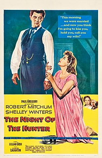 <i>The Night of the Hunter</i> (film) 1955 film by Charles Laughton