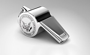 SEC Office of the Whistleblower - Symbol of the SEC Office of the Whistleblower