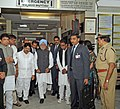 The Prime Minister, Dr. Manmohan Singh visited Yashoda Hospital to inquire the health of bomb blast victims, in Hyderabad on February 24, 2013.jpg