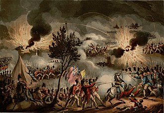 Pierre Thouvenot - The sortie from the besieged city of Bayonne on 14 April 1814, which took place despite news of Napoleon's abdication having already reached both sides